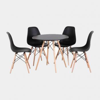Bộ bàn ghế phòng ăn RelaxArt B2 (Ma Kết)