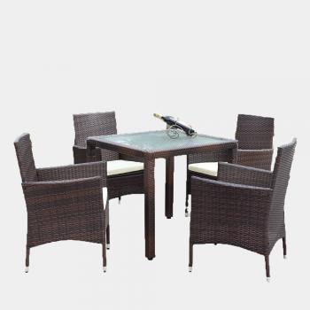 Bộ bàn ghế cafe lục bình ATC Furniture WAIS - 098